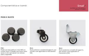 Poltrona Relax Small Zaggia Salotti - accessori